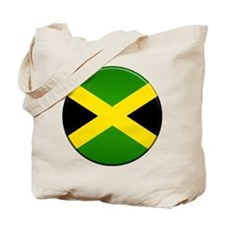 Jamaican Button Tote Bag