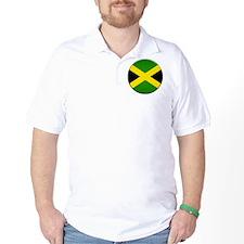 Jamaican Button T-Shirt
