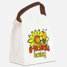 BumbleUNBELIEVABLEsecretary.png Canvas Lunch Bag