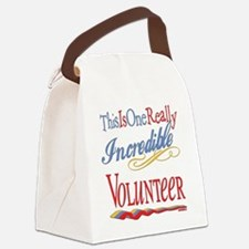 Incredible VOLUNTEER.png Canvas Lunch Bag