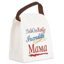 Incredible MAMA.png Canvas Lunch Bag