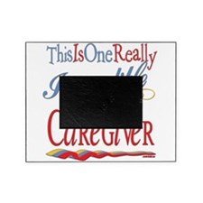 Incredible CAREGIVER.png Picture Frame