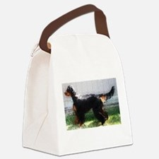 Godon Setter Grunge Canvas Lunch Bag