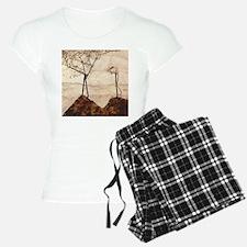 Egon Schiele Autumn Sun And Trees Pajamas