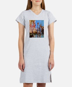 Manet Grand Canal in Venice Women's Nightshirt