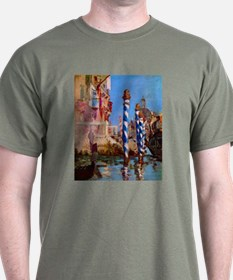 Manet Grand Canal in Venice T-Shirt