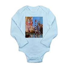 Manet Grand Canal in Venice Long Sleeve Infant Bod