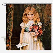 Charles Trevor Garland Love Letter Shower Curtain