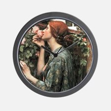 John William Waterhouse My Sweet Rose Wall Clock