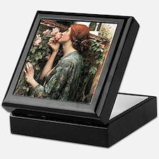 John William Waterhouse My Sweet Rose Keepsake Box