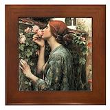 Victorian portrait Framed Tiles