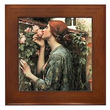 John William Waterhouse My Sweet Rose Framed Tile