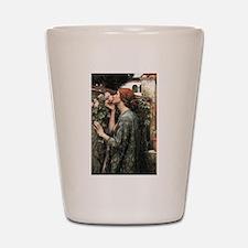 John William Waterhouse My Sweet Rose Shot Glass