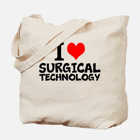 I Love Surgical Technology Tote Bag