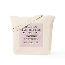 mysteries Tote Bag