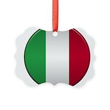 Italian Button Ornament