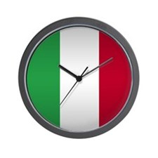 Italian Button Wall Clock