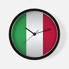 Italian Button Wall Clock