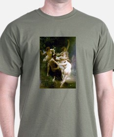 Bouguereau Nymphs and Satyr T-Shirt