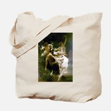 Bouguereau Nymphs and Satyr Tote Bag