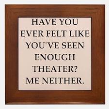 theater Framed Tile