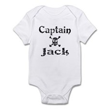 Captain Jack (distressed) Infant Creeper