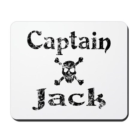 Captain Jack (distressed) Mousepad