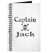 Captain Jack (distressed) Journal