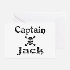 Captain Jack (distressed) Greeting Cards (Package