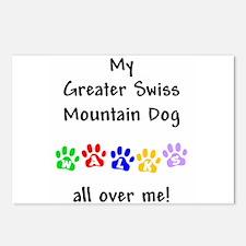 Swissy Walks Postcards (Package of 8)