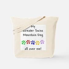 Swissy Walks Tote Bag