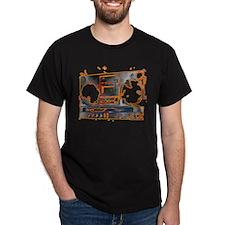 Boom Box Black T-Shirt