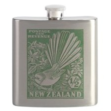 Cute Stamp collecting Flask