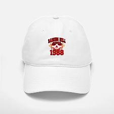 Raising Hell since 1988.png Baseball Baseball Cap