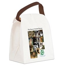 The Faces of Animal Rescue Canvas Lunch Bag