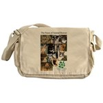The Faces of Animal Rescue Messenger Bag