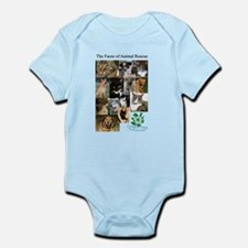 The Faces of Animal Rescue Infant Bodysuit