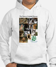 The Faces of Animal Rescue Hoodie