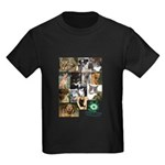 The Faces of Animal Rescue Kids Dark T-Shirt