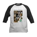 The Faces of Animal Rescue Kids Baseball Jersey