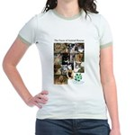 The Faces of Animal Rescue Jr. Ringer T-Shirt