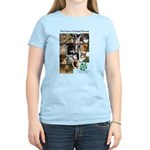 The Faces of Animal Rescue Women's Light T-Shirt