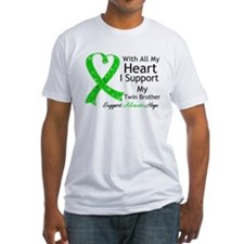 Support Twin Brother Green Ribbon Shirt
