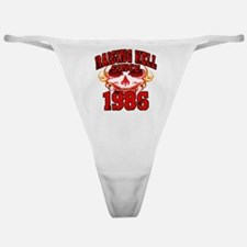 Raising Hell since 1986.png Classic Thong
