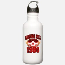 Raising Hell since 1986.png Water Bottle