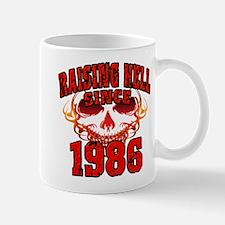 Raising Hell since 1986.png Mug
