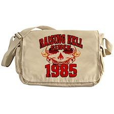Raising Hell since 1985.png Messenger Bag