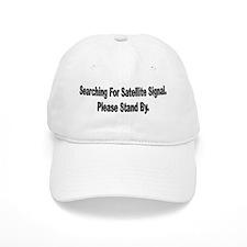 Searching For Satellite Signa Baseball Cap