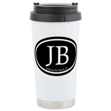 JB Jacksonville Beach Oval Travel Mug