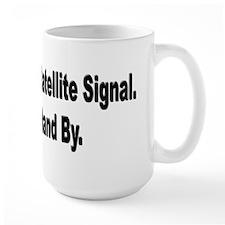 Searching For Satellite Signa Mug